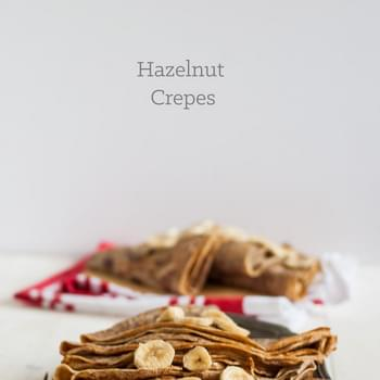 Hazelnut Crepes