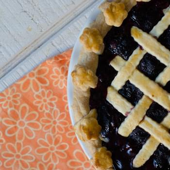A Blueberry Pie for David