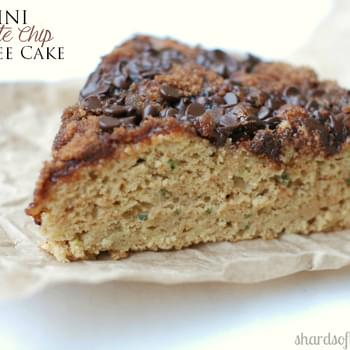 Zucchini Chocolate Chip Coffee Cake