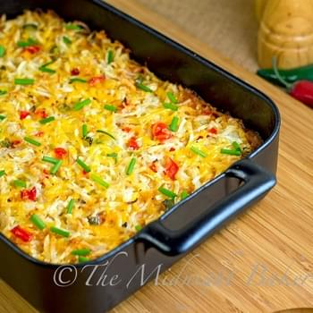 Mexicali Hashbrown Taco Casserole