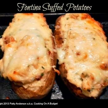 Fontina Stuffed Potatoes