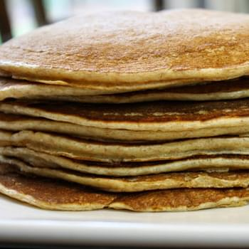 Whole Wheat And Flax Seed Pancakes