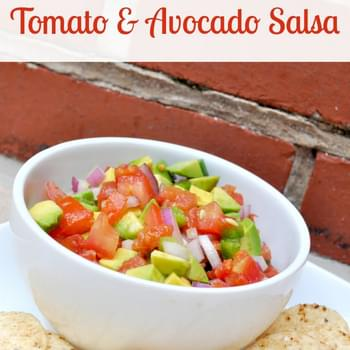 Fresh Tomato and Avocado Salsa