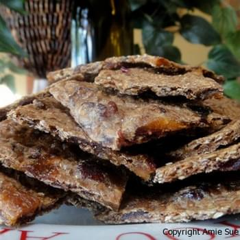 Tropical Flax Crackers