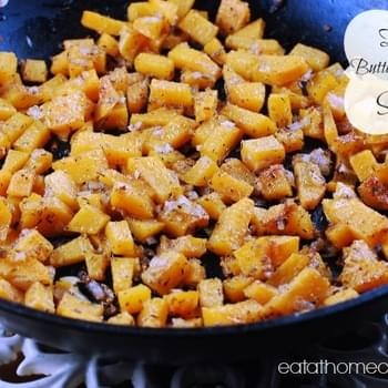 Easy Butternut Squash Skillet – My New Favorite Side Dish