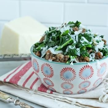 Broccoli Rabe & Italian Sausage (Low Carb & Gluten Free)