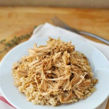 Slow Cooker Salsa Chicken and Rice