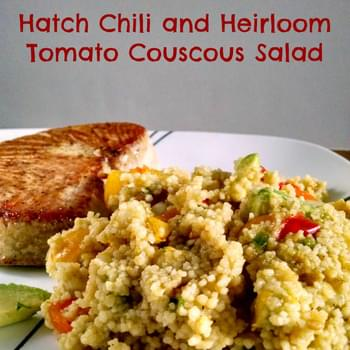 Hatch Chili and Heirloom Tomato Couscous Salad