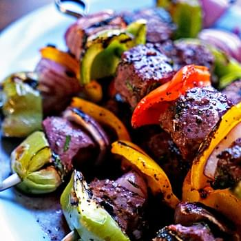 Filet Mignon Shish Kabobs