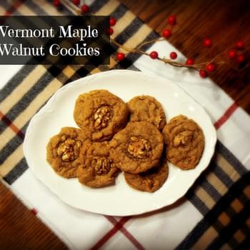 Vermont Maple Walnut Cookies