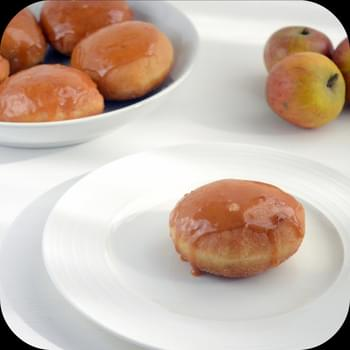 Toffee Apple Doughnuts