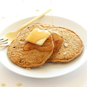 Easy Whole Grain Vegan Pancakes