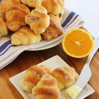 Buttery No-Knead Crescent Rolls