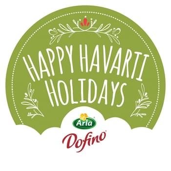 Happy #HavartiHolidays from Arla Dofino! Mushroom Havarti Cheese Crepes