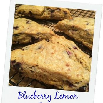 Food Babe's Blueberry Lemon Scones