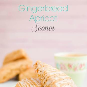 Gingerbread Apricot Scones