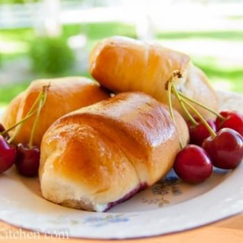 Buchty - Sweet Cherry Filled Buns