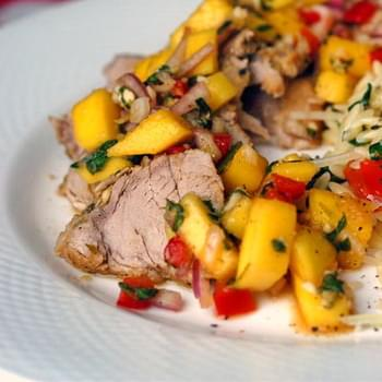 Roasted Lime Cumin Pork Tenderloin
