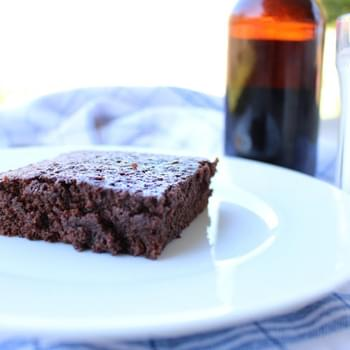 Chocolate Stout Beer Brownies