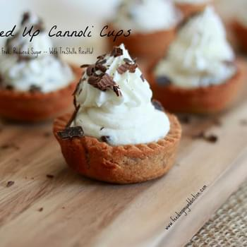 Lightened Up Cannoli Cups