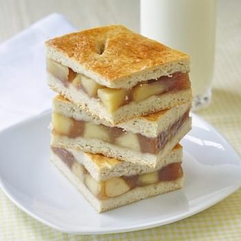 Apple Cobbler Bars