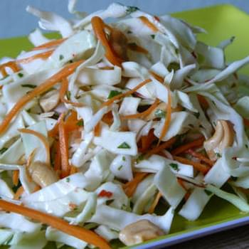 Spicy Cabbage Salad Recipe (Goi Bap Cai)