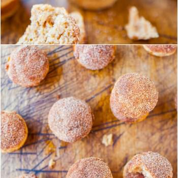 Mini Cinnamon Sugar Popovers