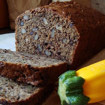 Low Fat Chocolate Zucchini Bread recipe – 76 calories