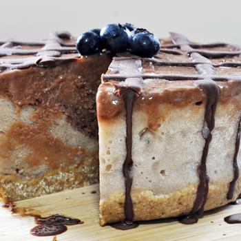 Raw Vegan Breakfast Ice Cream Cake
