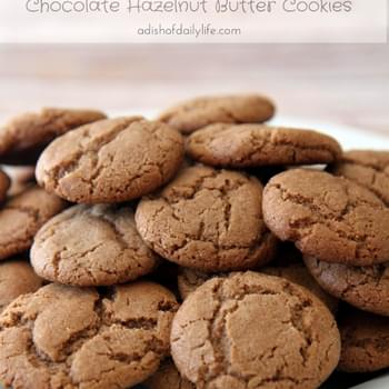 Chocolate Hazelnut Butter Cookies