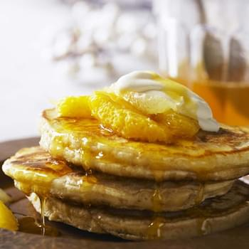 St Clement's breakfast pancakes