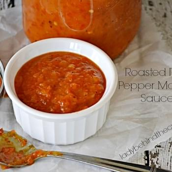 Roasted Red Pepper Mango Sauce