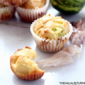 Squid, Cucumber & Lime Muffins
