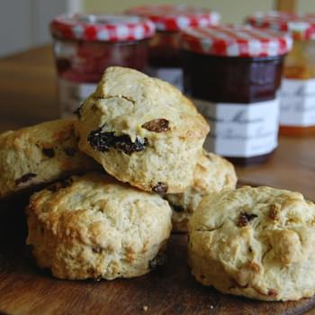 Goji Berry, Raisin and Golden Sultana Scones