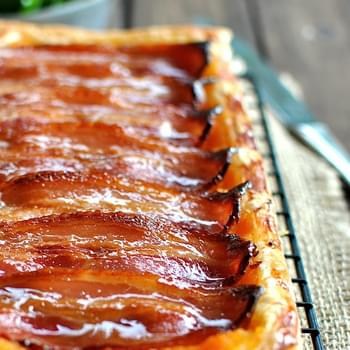 Maple, Bacon and Pumpkin Tart