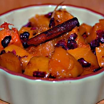 Squash with Cherries