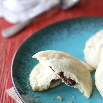 Nutella & Sea Salt Stuffed Sugar Cookies