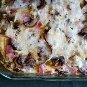 Overnight Ham and Cheese Bake