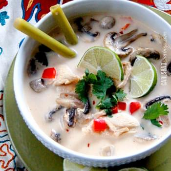 TOM KHA GAI (Coconut Chicken Soup)