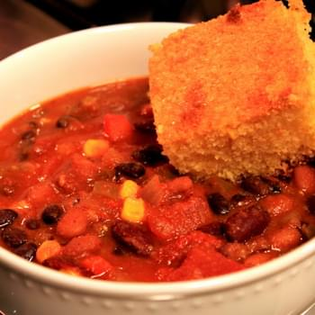 The Best Vegetarian Chili EVER!