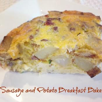 Sausage and Potato Breakfast Bake