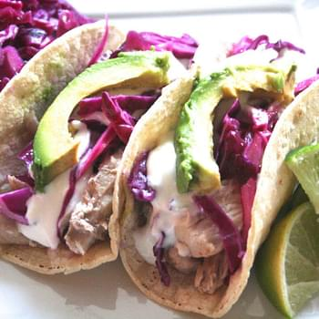 Catch Of The Day. [tequila-lime Mahi Mahi Tacos W. Honey-lime Sour Cream]