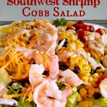 Southwest Shrimp Cobb Salad
