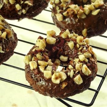 Chocolate Hazelnut Donuts
