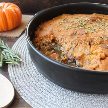Sweet Potato Pumpkin Shepherds Pie