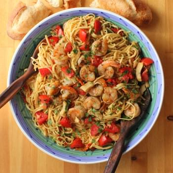 Linguine with Shrimp and Artichokes