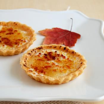 Maple Brûlée Tartlets
