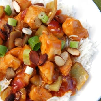 Low Sodium Spicy Sweet-and-Sour Chicken