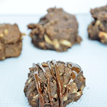 Chocolate Protein Cookies with Flax