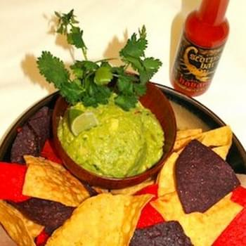 Scorpion Bar's Spicy Guacamole